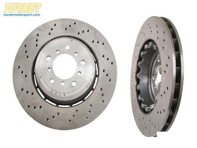 T#13544 - 34112283801 - Genuine BMW Brake Disc, Ventilated, Left 34112283801 - Genuine BMW -