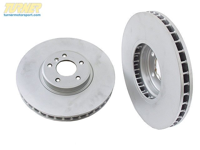 T#13547 - 34116756847 - BRAKE DISC, VENTILATED 34116756847 - Hella -