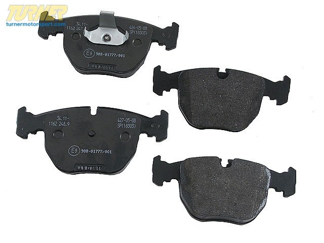 T#15847 - 34116761252 - BRAKES Repair Kit, Brake Pads 34116761252 - Hella -