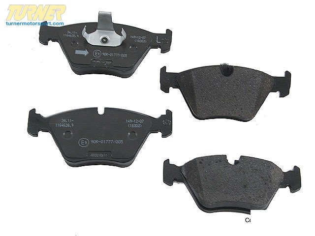 T#13549 - 34116761280 - OEM BMW Repair Kit, Brake Pads Asbestos-Free - 34116761280 - E39 - Pagid -