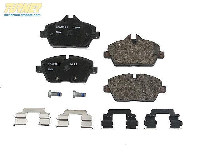 T#15858 - 34116772892 - OEM MINI Brakes Repair Kit, Brake Pads 34116772892 - Pagid -