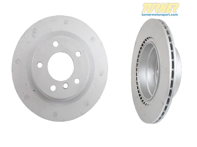 T#19899 - 34116785675 - Genuine BMW Brake Rotor Light Blue, Vent 34116785675 - ATE -