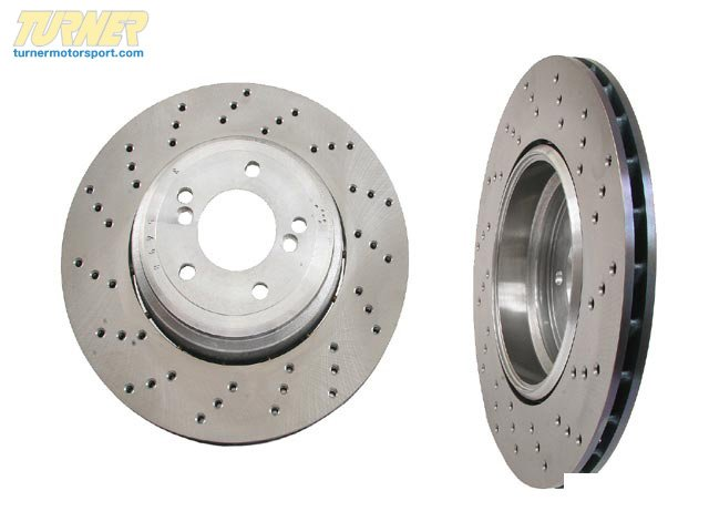 T#13563 - 34212283803 - Genuine BMW Brake Disc, Ventilated, Left 34212283803 - Genuine BMW -