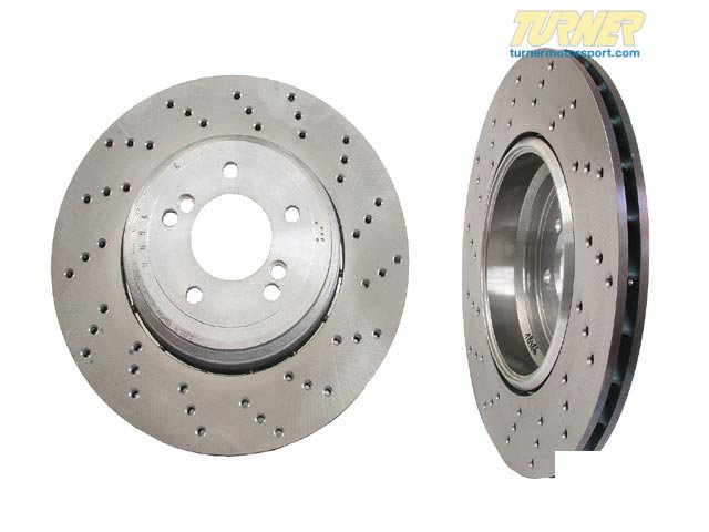 T#19711 - 34212283804 - Genuine BMW Brake Disc, Ventilated, Righ 34212283804 - Genuine BMW -