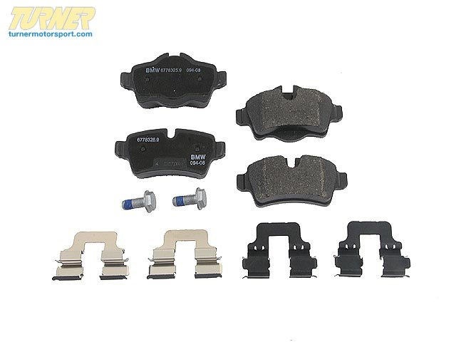 T#15904 - 34216778327 - Genuine MINI Brakes Repair Kit, Brake Pads 34216778327 - Genuine Mini -