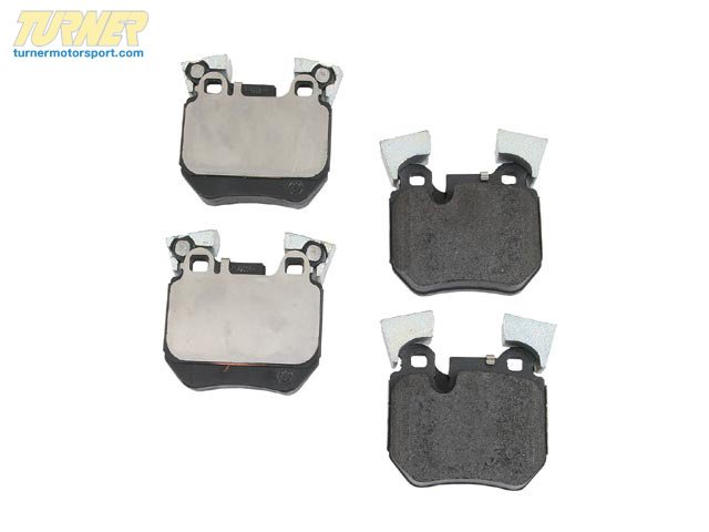T#13574 - 34216791421 - OEM Pagid BMW Brake Pads - Rear - E82 135i - Pagid - BMW