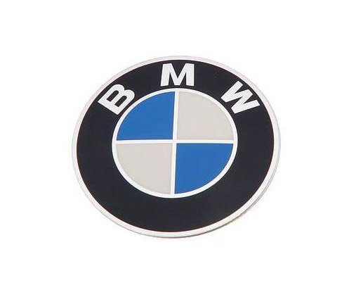 T#8212 - 36131122132 - Genuine BMW Badge D=70mm - 36131122132 - E34,E34 M5 - Genuine BMW -