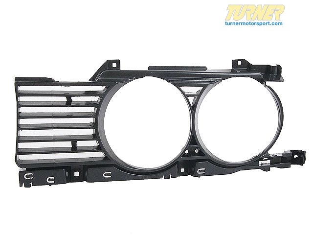 T#20063 - 51131944137 - Genuine BMW Grille Left - 51131944137 - E34,E34 M5 - Genuine BMW -