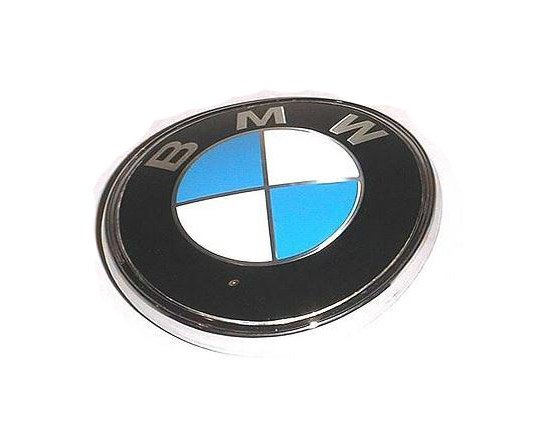 T#8831 - 51141872328 - Genuine BMW Trim Trunk Lid Badge 51141872328 - Genuine BMW -