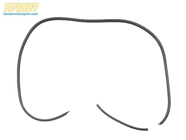 T#10028 - 51711884149 - Trunk Lid Gasket - E30 318i/is 325e/es 325i/is/ic/ix - URO - BMW