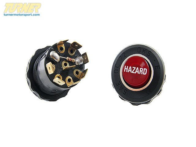 "T#10510 - 61311356193 - Genuine BMW Hazard Warning Switch ""Hazard"" - 61311356193 - Genuine BMW -"