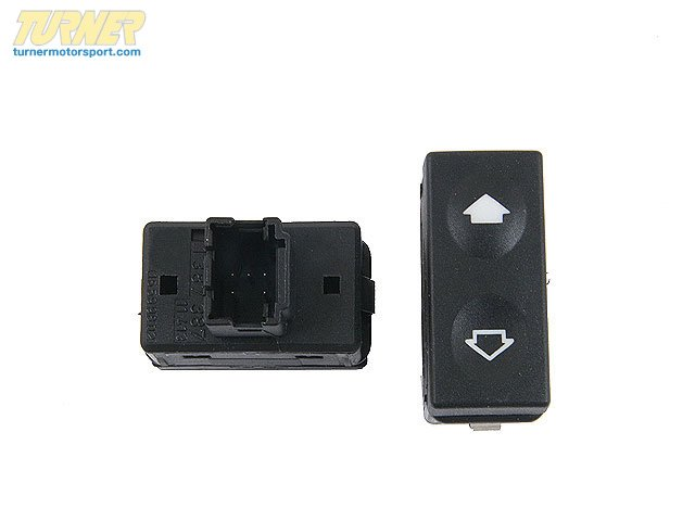 T#10576 - 61311387387 - Genuine BMW Switch Schwarz - 61311387387 - E36 - Genuine BMW -
