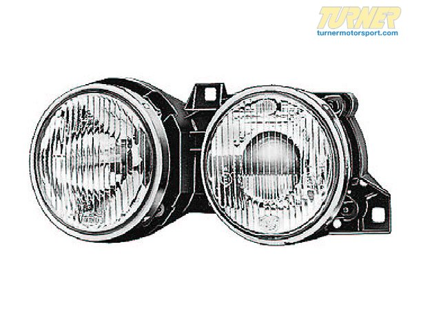 T#18764 - 63121385797 - Ellipsoid Headlight - Left - E30 1988-6/1989 - Genuine BMW - BMW