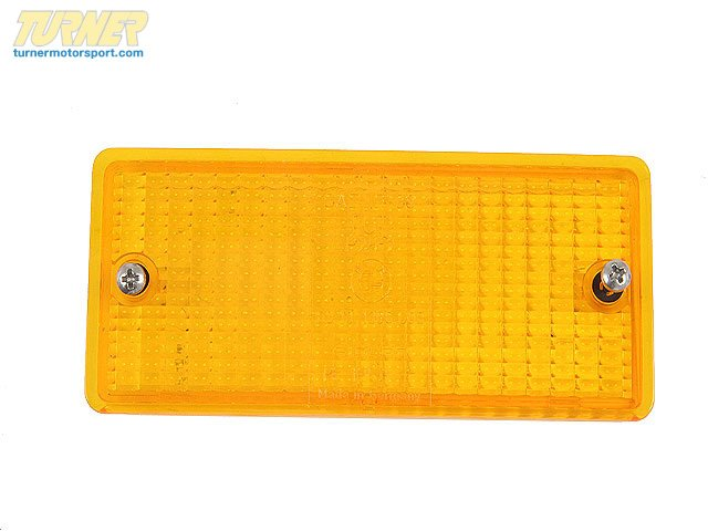 T#10873 - 63131386611 - Turn Signal Lens - Amber - E30 3 series, E28 5 series - Genuine BMW - BMW