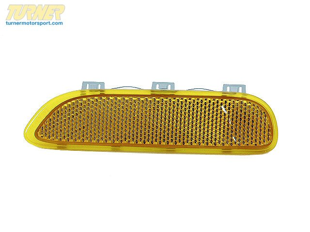 T#10910 - 63148383011 - Genuine BMW Reflector, Yellow Left - 63148383011 - E46,E46 M3 - Genuine BMW -