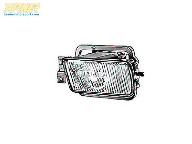 Fog Light - Left - E32 3/89-90 - E24 2/89+