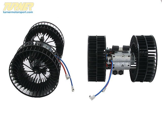 T#11058 - 64118391809 - Heater - A/C Blower Motor - E38 740i/il 750il - Hella - BMW