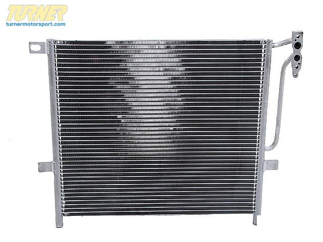 T#16339 - 64538377614 - OEM BMW Heater & A/c Condenser Air Conditioning 64538377614 - Hella -