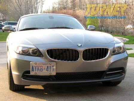 T#338896 - G-BMW-Z4 - No Holes License Plate Bracket - E89 Z4 2009+ - GMG Motorsports - BMW