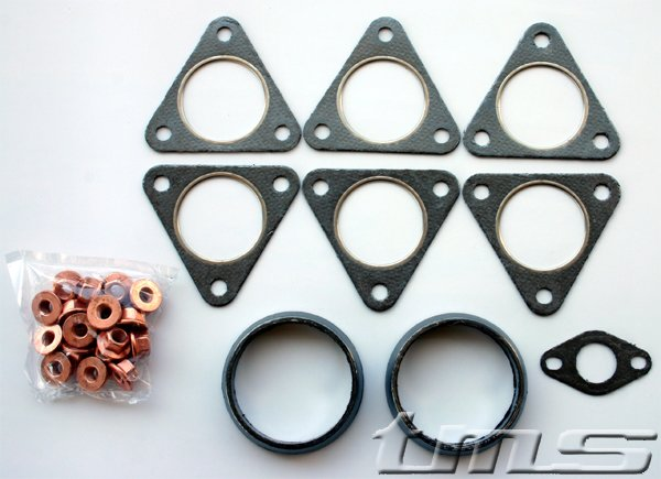T#48 - E46M3HEADERKIT - E46 M3 Header Hardware and Gasket Kit - Packaged by Turner - BMW