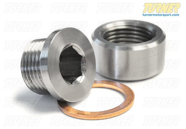 T#339000 - TEN9949O2S - O2 Sensor Bung and Plug - Packaged by Turner - BMW MINI