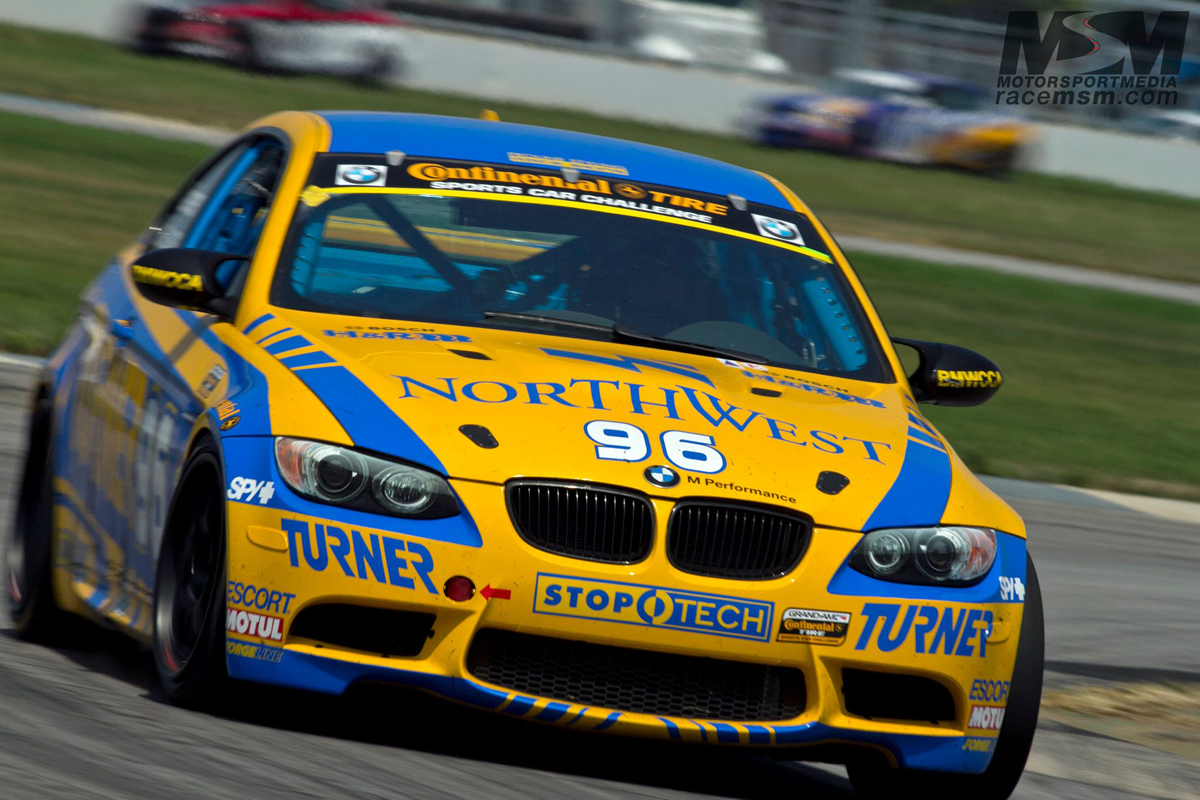 Turner Motorsport BMW M3 race cars