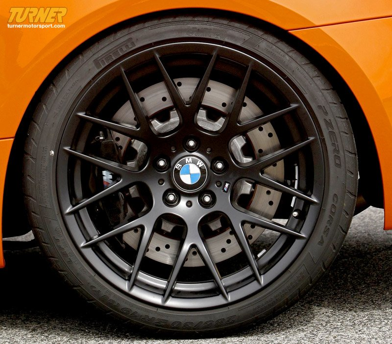 36112284151 Genuine Bmw E9x M3 Gts Wheel Black Rear