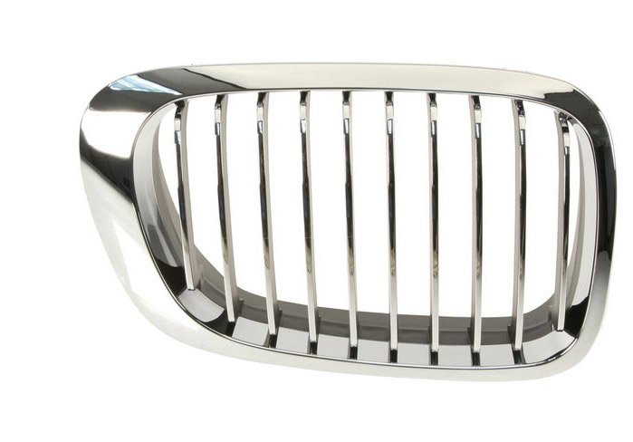 T#13726 - 51138208686 - Kidney Grill - Chrome - Right - E46 323Ci, 325Ci, 325Ci, 330Ci, M3 - Genuine BMW - BMW