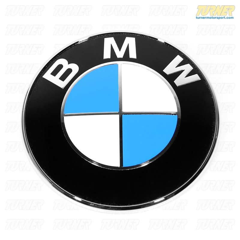 T#21003 - 51148203864 - Genuine BMW Trunk Lid Badge - E39 - Genuine BMW -