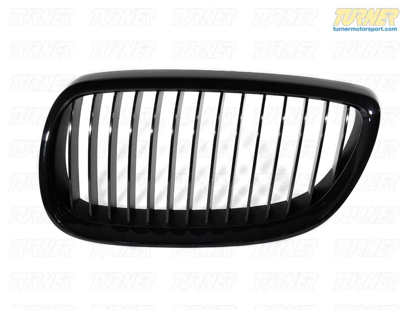 T#5089 - 51712155451 - BMW Performance Black Grill - Left E92 >03/2010 - Genuine BMW -