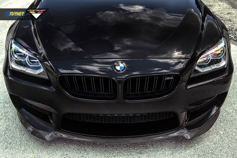 Bmw M6 Carbon: Vorsteiner Front Add-On Carbon Fiber Spoiler