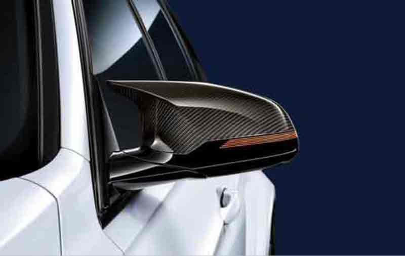 T#221967 - 51162361520-521 - M Performance Carbon Fiber Mirror Covers - F85 X5M, F86 X6M - Genuine BMW - BMW