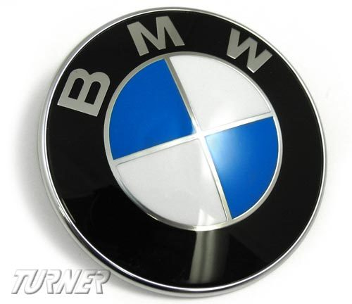 T#12178 - 51147166445 - BMW Trunk Emblem - E82 128i, 135i, 1M - Genuine BMW - BMW