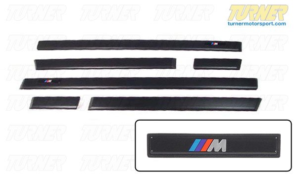 T#338533 - TMS3438 - E36 M-Technic / M3 Door Moldings - Genuine BMW - BMW