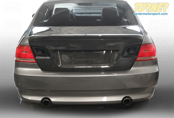 T#1397 - TMS1397 - E92 Carbon Fiber Trunk Lid - Fits 2007+ E92 Coupes - ECS - BMW