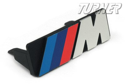 T#1512 - 72601933569 - Motorsport Grill Emblem - Fits all E30s - Genuine BMW - BMW
