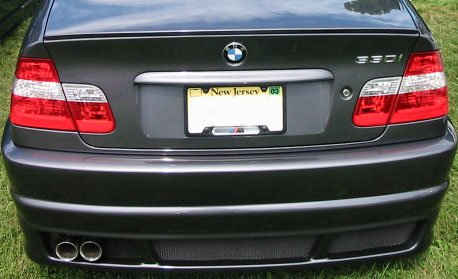 T#4056 - 51717894050XX - E46 Sedan M-Technic Rear Lip Spoiler - Turner Motorsport -
