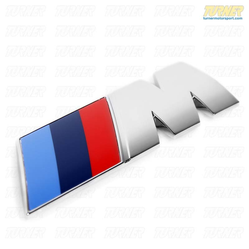 T#5676 - 51147250849 - Motorsport Rear M Emblem - E70 X5M - Genuine BMW - BMW