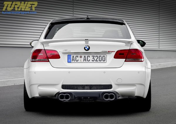 T#1563 - 5162-92110 - AC Schnitzer Rear Wing for 2007+ E92 Coupes - Wiseco -