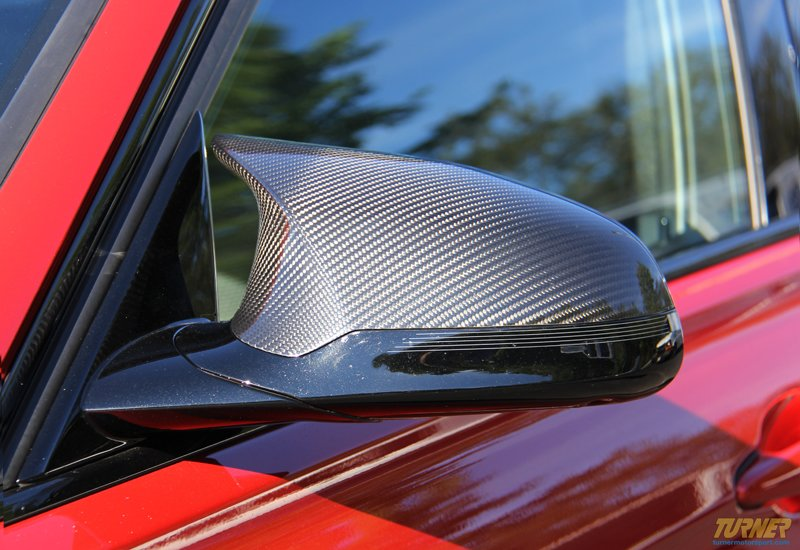 51142348098 099 M Performance Carbon Fiber Mirror Covers