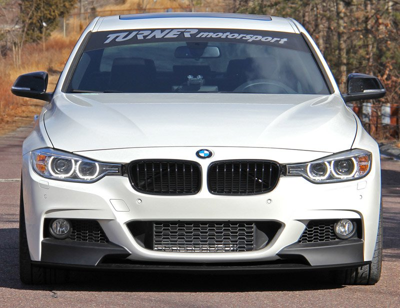 51192291364 f30 m performance front splitter for m sport. Black Bedroom Furniture Sets. Home Design Ideas