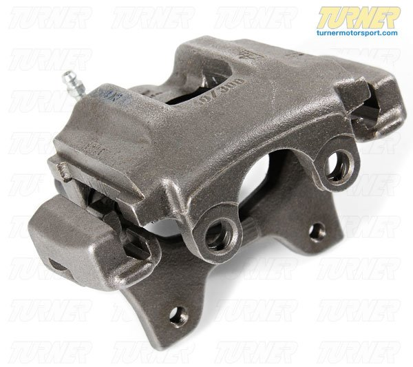 T#5893 - 34211160399R - Brake Caliper - Rebuilt - Rear Left - E34 540i, M5 - E32 740i/il, 750il - Centric -