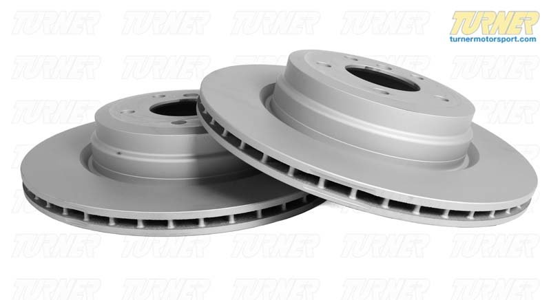 T#3827 - 34111159896 - Front Brake Rotors - E32 735i/740i/750i, E34 540i (not M-Sport) (each) - Pagid -