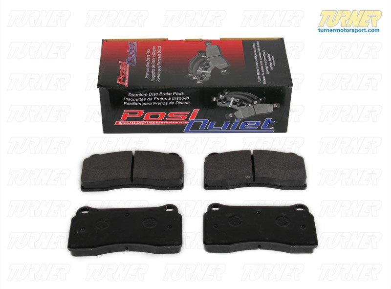 T#16481 - TMS16481 - Brembo Calipers F40, F50, B, H, GT1 - Street Brake Pad Set - StopTech Posi-Quiet Extended Wear - StopTech - BMW