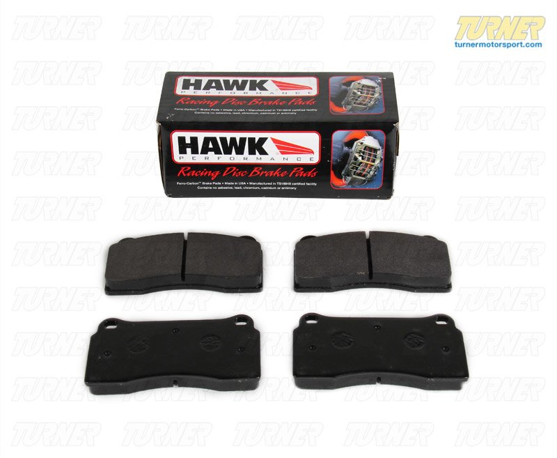 T#1642 - TMS1642 - Brembo Calipers F40, F50, B, H, GT1 - Race Brake Pad Set - Hawk HT10 - Hawk - BMW