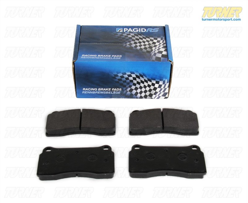 T#1661 - TMS1661 - Brembo Calipers F40, F50, B, H, GT1 - Race Brake Pad Set - Pagid RS14 Black - Pagid - BMW