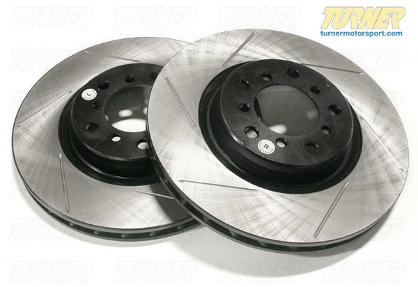 T#3071 - 34116767059GS - Gas-Slotted Brake Rotors (Pair) - Front - E39 530i 01-03, 540i 4/2000-2003 - StopTech - BMW