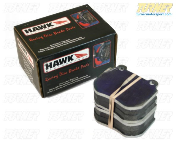 T#3486 - TMS3486 - Hawk HT10 Race Brake Pads - Rear - E82/E88 135i - Hawk - BMW