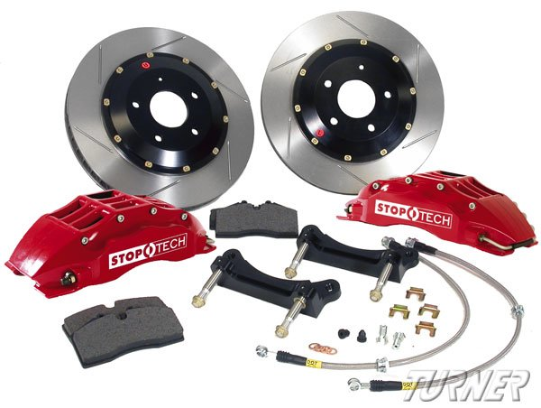 T#340027 - 83.135.6700 - StopTech Front Big Brake Kit (355mm) 6-Piston - E39 540i, M5 - BMW