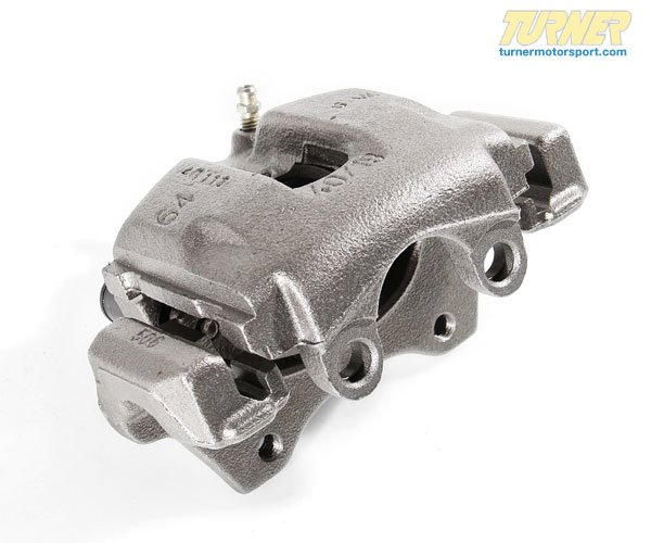 T#5942 - 34211165034R - Brake Caliper - Rebuilt - Rear Right - E46 323i/ci 325i/ci/xi 328i/ci - Z4 3.0i, 3.0si  - NuGeon - BMW